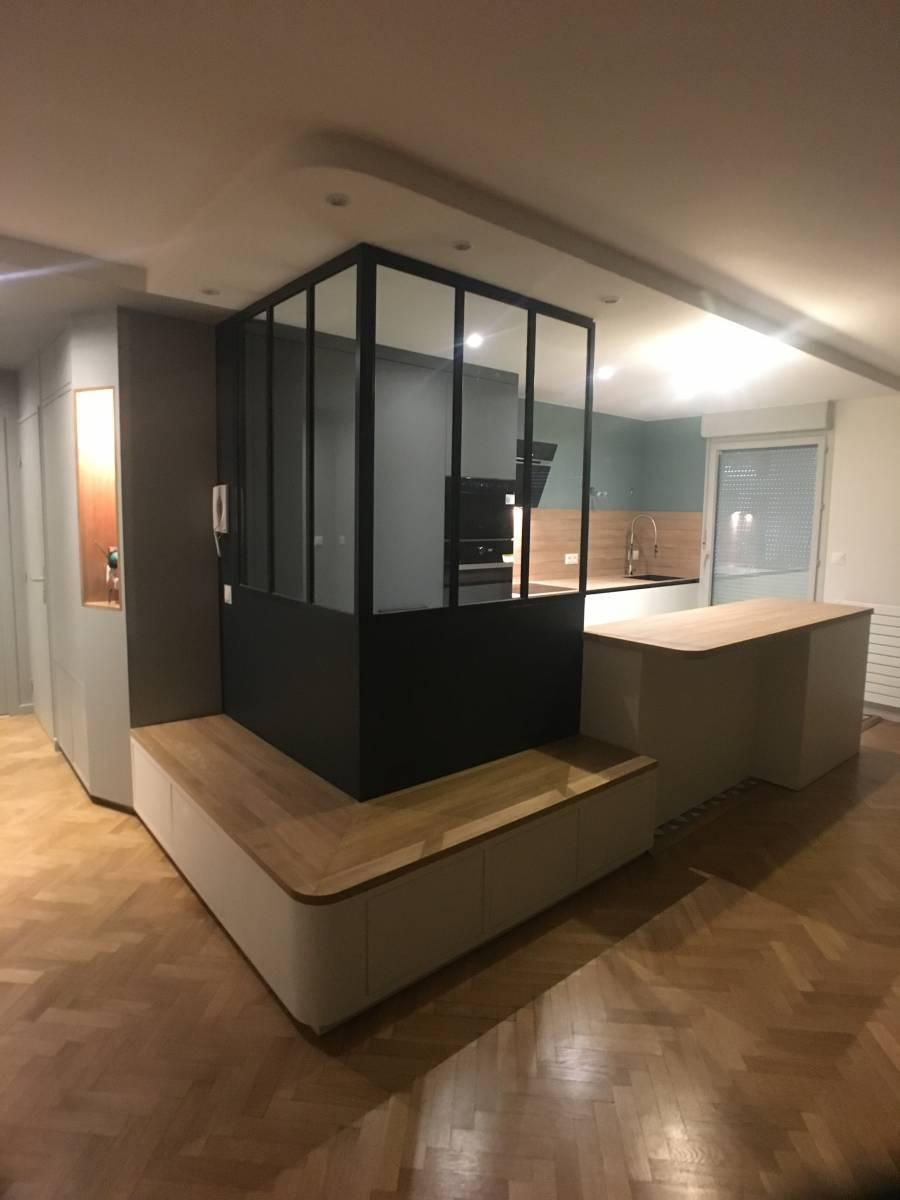 conception de cuisine avec verri re lyon il bagno. Black Bedroom Furniture Sets. Home Design Ideas