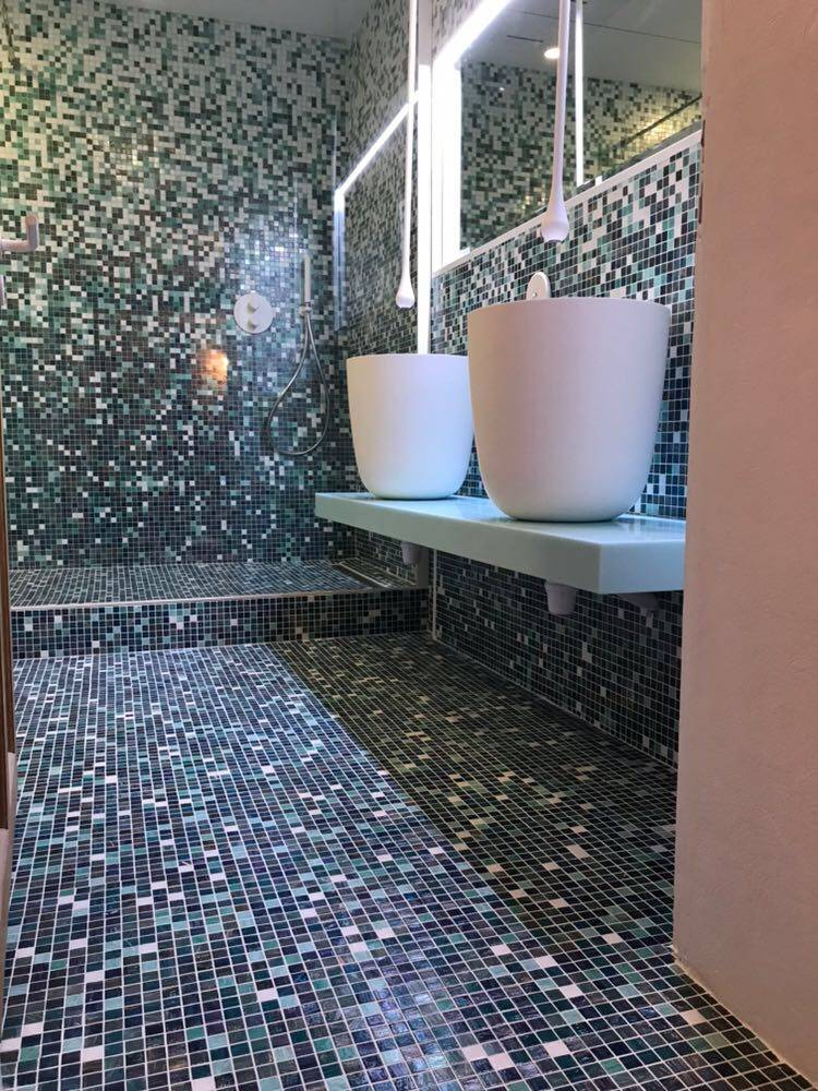 conception de salle de bain cl en main avec douche l 39 italienne lyon 3 il bagno. Black Bedroom Furniture Sets. Home Design Ideas